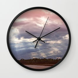 Shine Down on Me Wall Clock