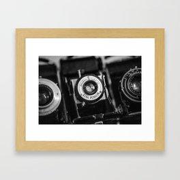 Classic Cameras. Framed Art Print