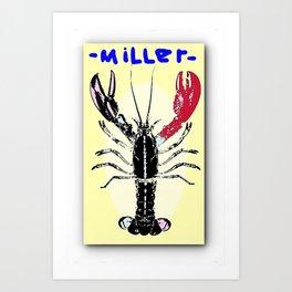 Miller Lobster Art Print