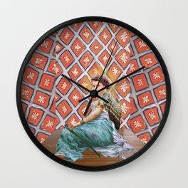 Odalisque #2 Wall Clock