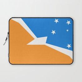 Tierra del Fuego Argentina flag Laptop Sleeve