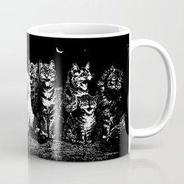 The Pack at Night Coffee Mug