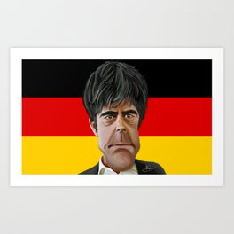 Joachim Löw World Cup 2014 Art Print