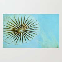 transparent Area & Throw Rugs featuring Transparent-Sea by Bella Blue Photography