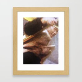 80s Acts of Violence III Framed Art Print