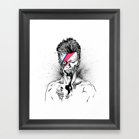 Zombowie Framed Art Print