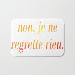 No Regrets! Bath Mat