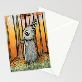 Forest Bunny Stationery Cards