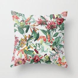 Botanical Garden II Throw Pillow