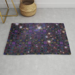 Great Wall of Code - Stars and Space Rug