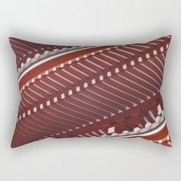 Pagoda roof pattern Rectangular Pillow