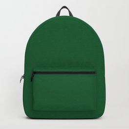 Green Bay Football Team Green Solid Mix and Match Colors Backpack