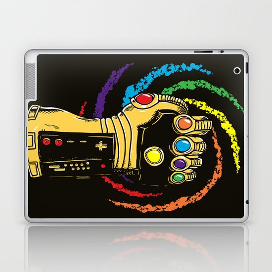 Infinite Power Laptop & iPad Skin
