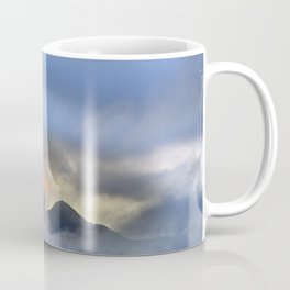 """Sunrise at the mountains"". Birds in the morning. Coffee Mug"