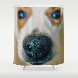 Dog face Shower Curtain