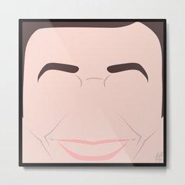 Jimmy Fallon – Square:icature™ Metal Print