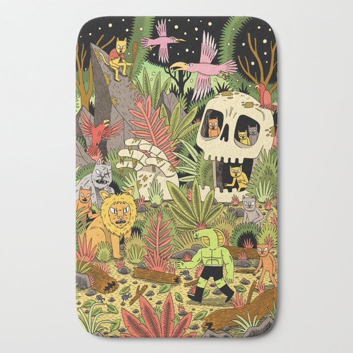 The Jungle Bath Mat