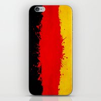 germany iPhone & iPod Skins featuring Germany by Nicklas Gustafsson