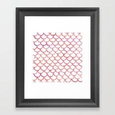 Scalloppy Framed Art Print