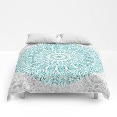 A Glittering Mandala  Comforters