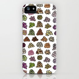 Healthy Nuts Pattern Art iPhone Case