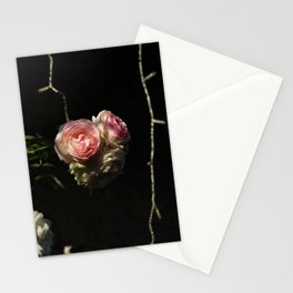 Roof's rose Stationery Cards