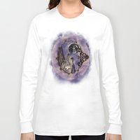 luna Long Sleeve T-shirts featuring Luna by Natalie Easton