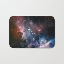 Watecolour Galaxy Bath Mat