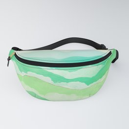 Emerald Spring Fanny Pack