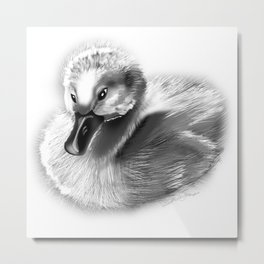 UGLY AS EVER Metal Print