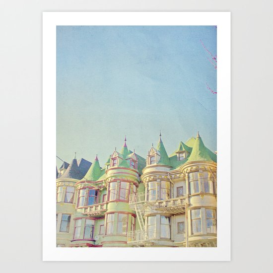 SF Tops 3 Art Print