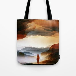 Quiet Heat Tote Bag