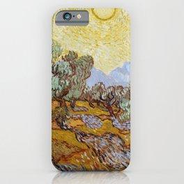 Vincent Van Gogh Olive Trees iPhone Case