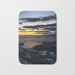 Rhode Island Sunset Bath Mat