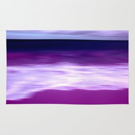 purple beach XII Rug
