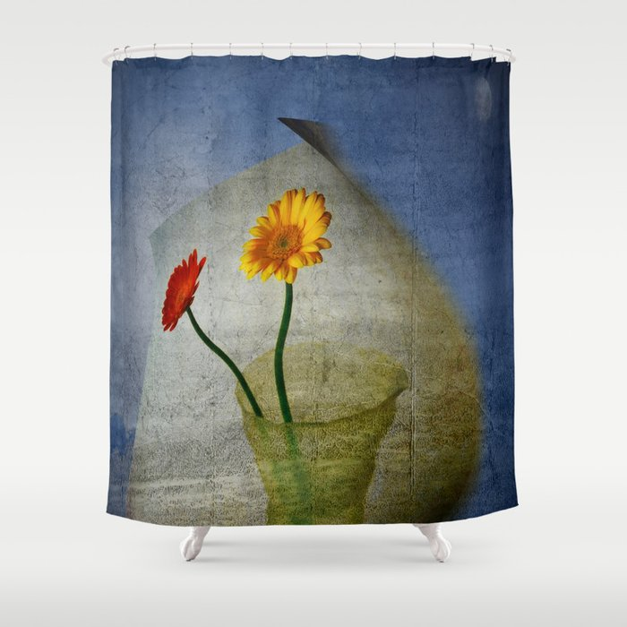 Blowing In The Wind Shower Curtain By Nagelestock