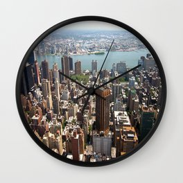 NYC II Wall Clock