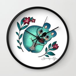 Love You Berry Much Wall Clock