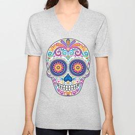 Sugar Skull (Cosmos) Unisex V-Neck