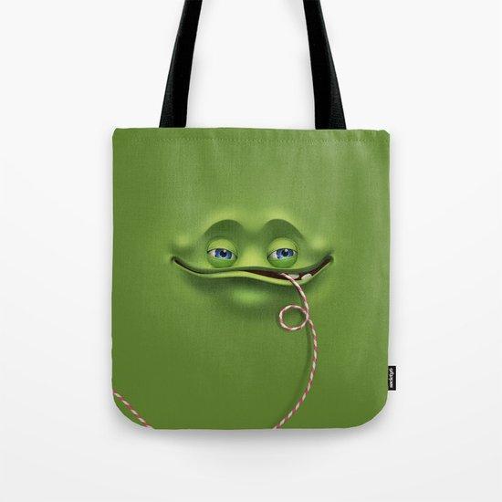 Joyful face Tote Bag