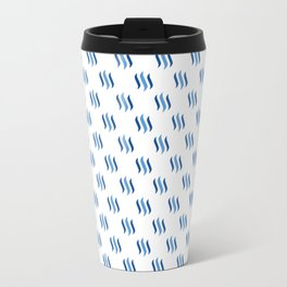 Steem - Crypto Fashion Art (Small) Travel Mug