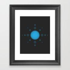 THE MISSING SCARF - Sun 1 Framed Art Print