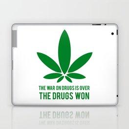 The Drugs Won (1) Laptop & iPad Skin