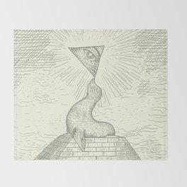 The Masonic Seal Throw Blanket