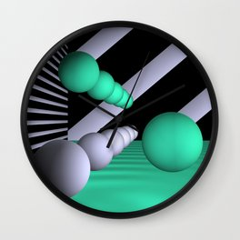 3D-geometry -10- Wall Clock