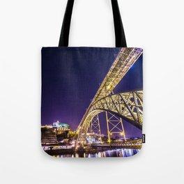Luís I Bridge Porto Tote Bag