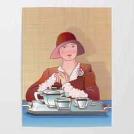 Paris Cafe 2 Poster