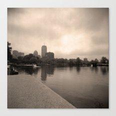 Charles River Lagoon View 2 Canvas Print