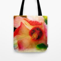 hibiscus Tote Bags featuring Hibiscus by Christine Belanger