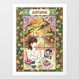 ~ A U T U M N ~ Art Print